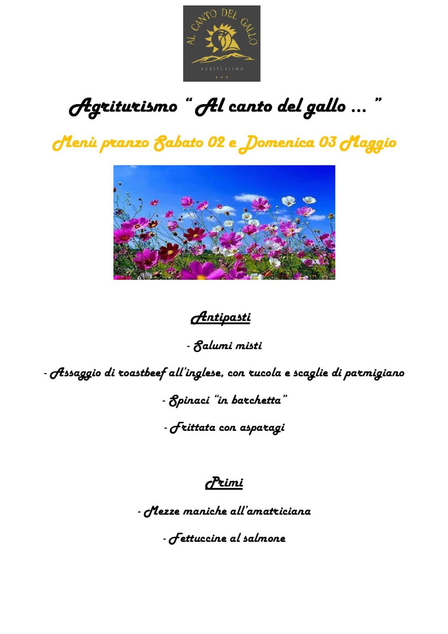 Menù 02-03 Maggio (pag. 1)