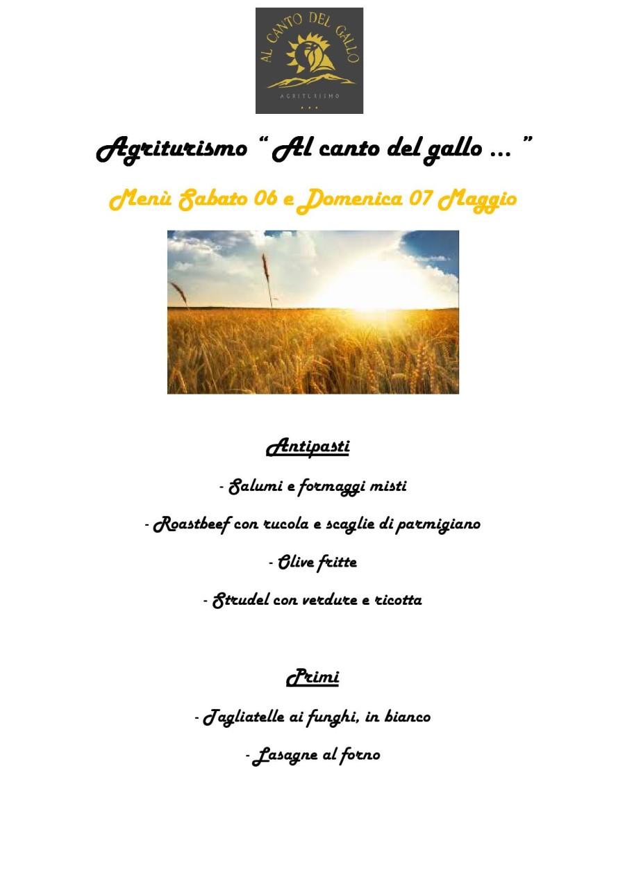 Menù 06-07 Guigno (pag.1)