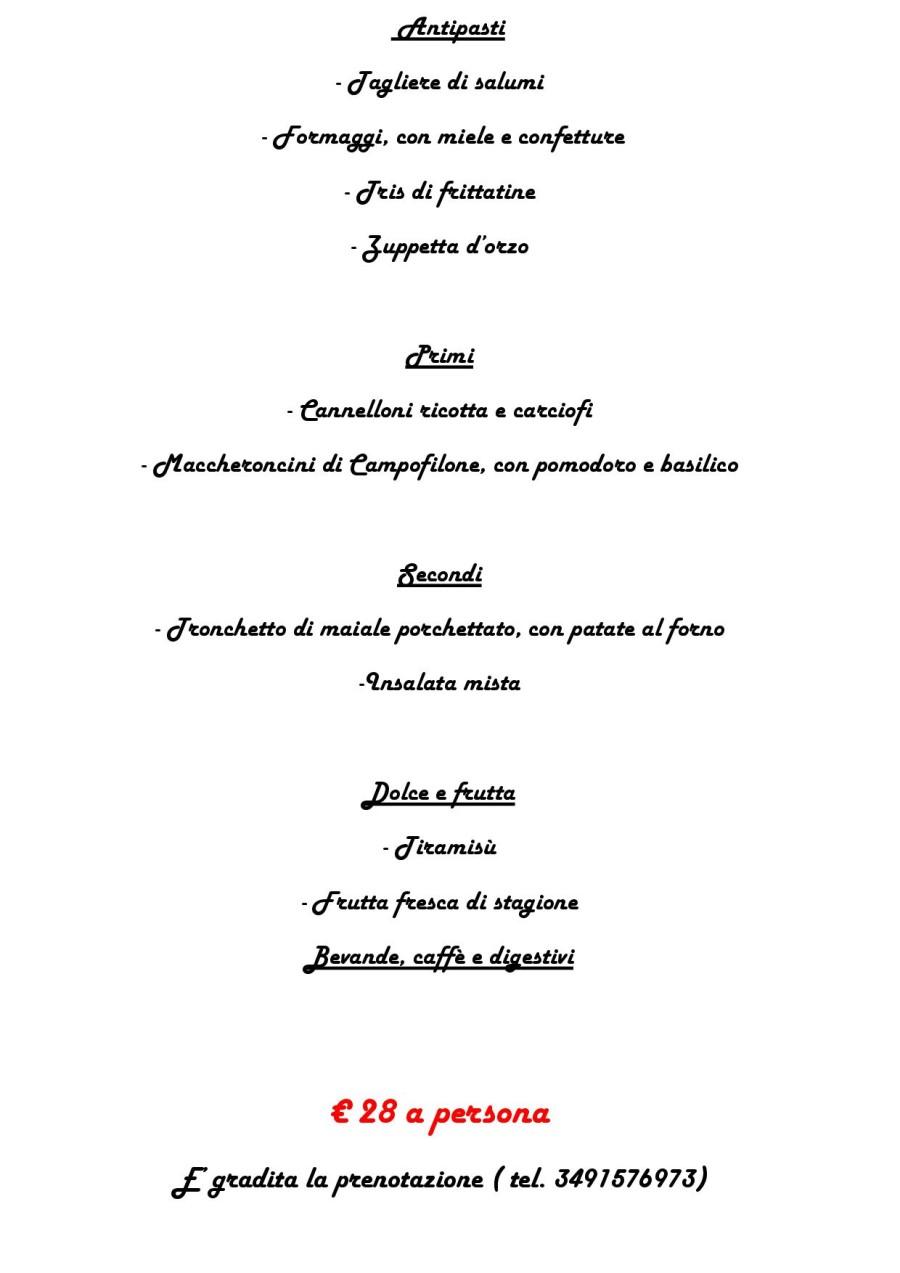 Menù Domenica 01 Maggio 2016 ( pag. 2 )