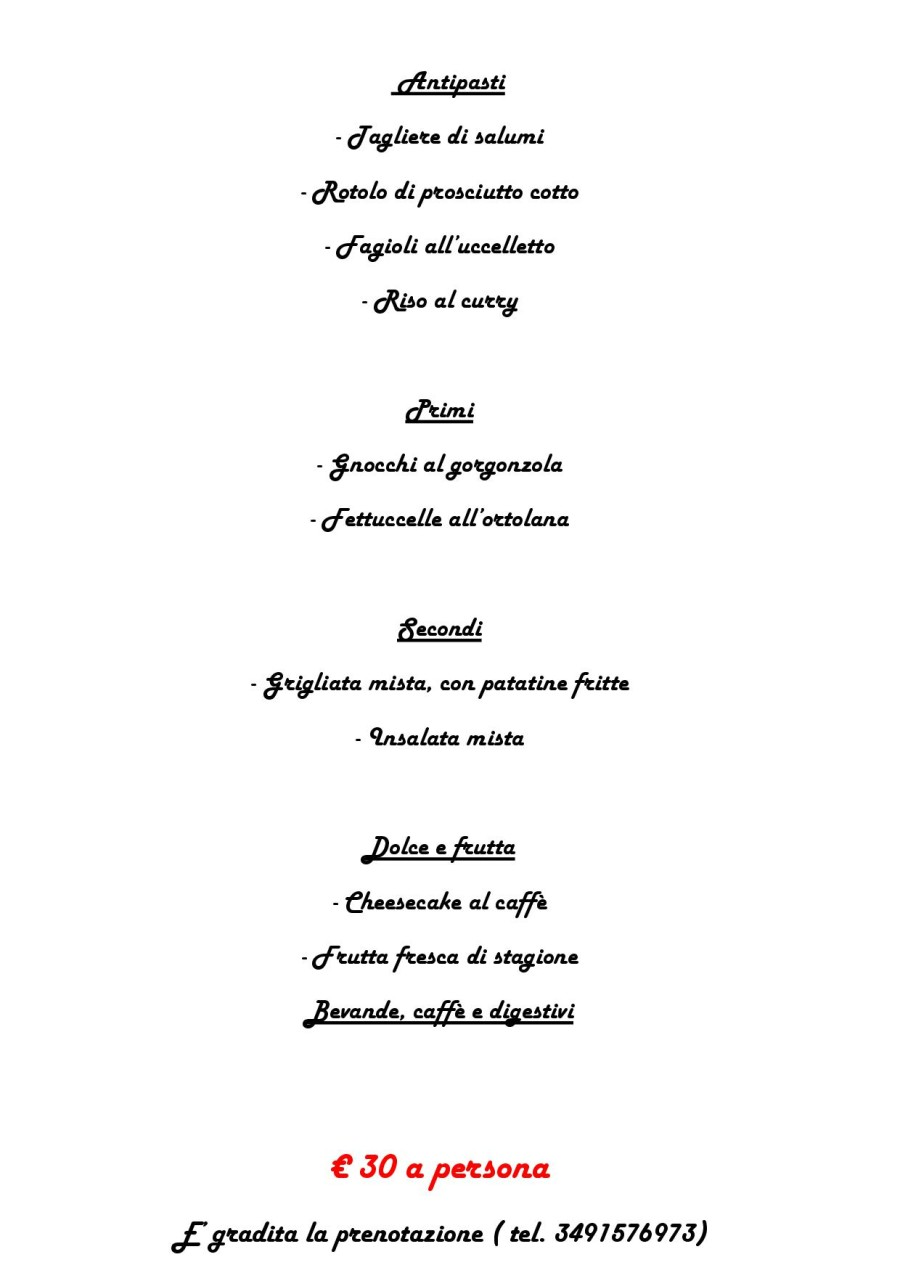 Menù Domenica 05 Giugno 2016 ( pag. 2 )