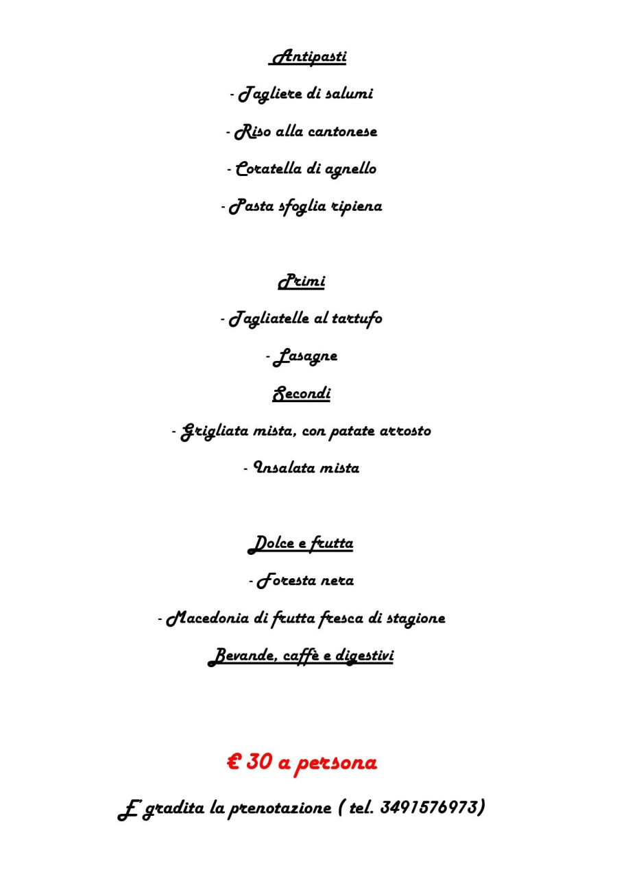 Menù Domenica 19 Giugno 2016 ( pag. 2 )