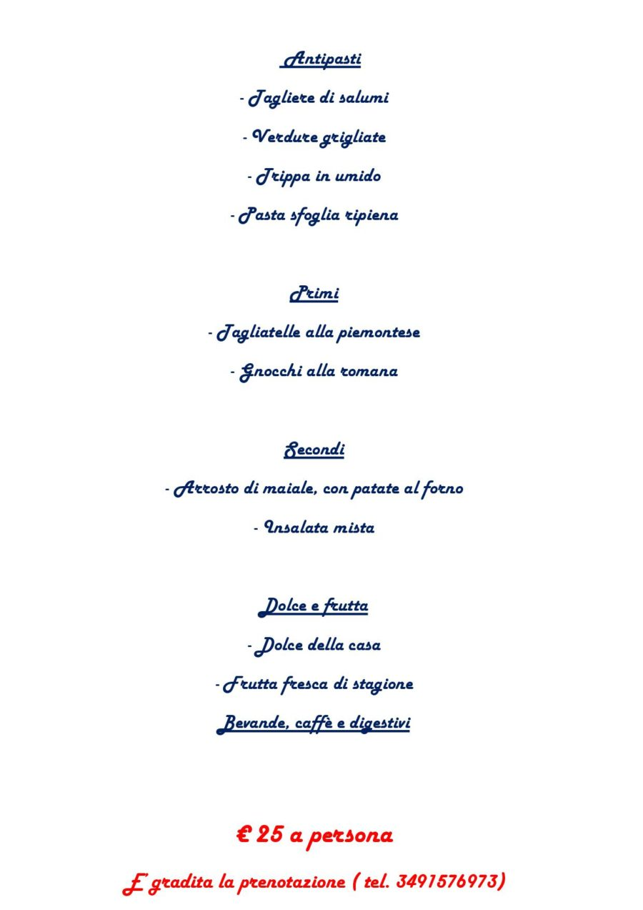 Menù Domenica 16 Ottobre 2016 ( pag. 2 )